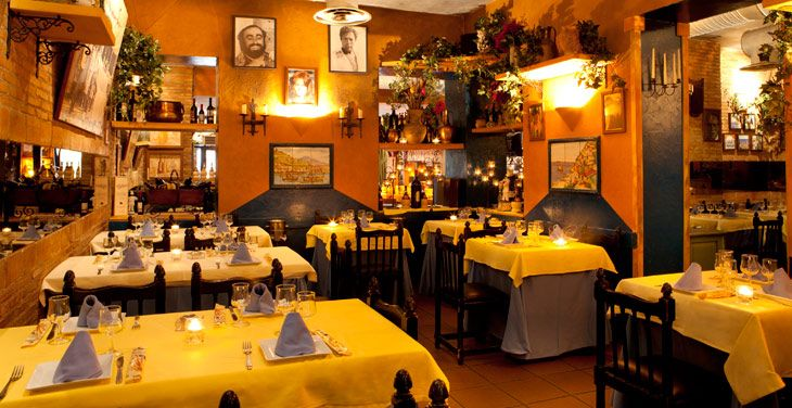 A typical Italian trattoria... the experience is completely hit and miss