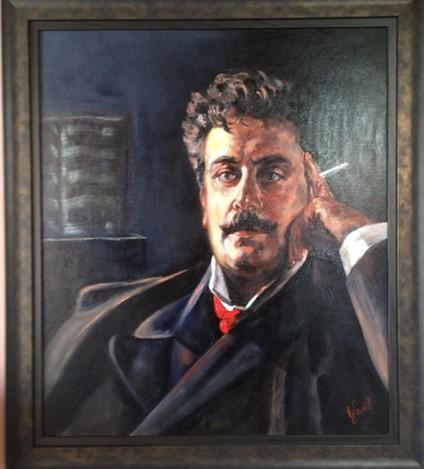 Portrait taken from a 19th century original