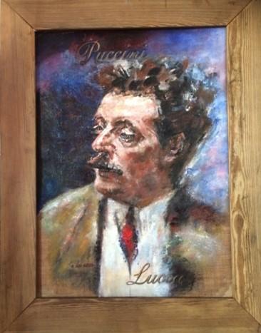 """Portrait taken from """"Puccini e la sua Lucca"""