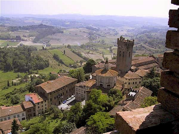 Stunning views from San Miniato