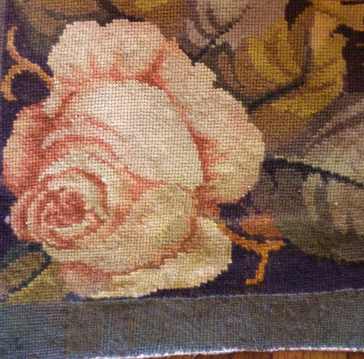 French Needlepoint Rewoven