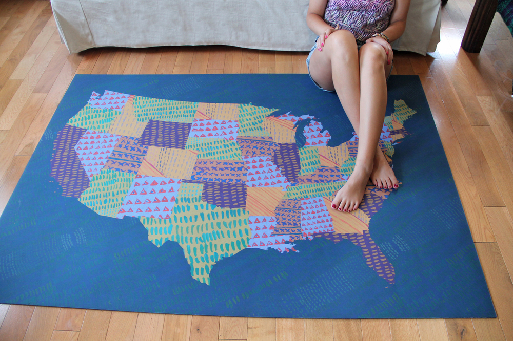 Domestic Construction 'Merica Mat : Product Design