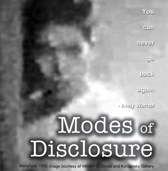 Modes of Disclosure