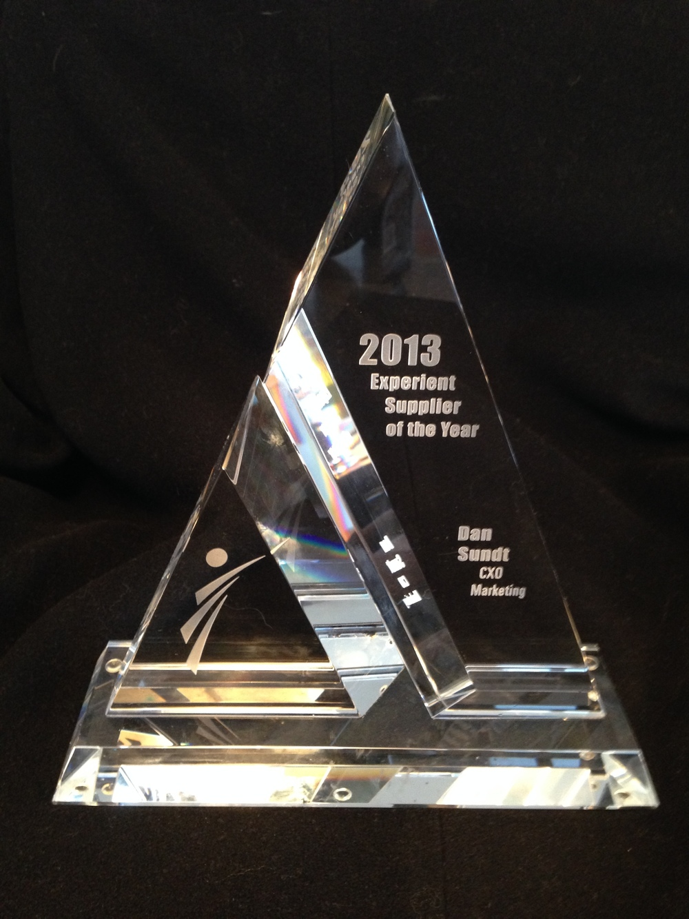 2013 Experience Supplier of the Year