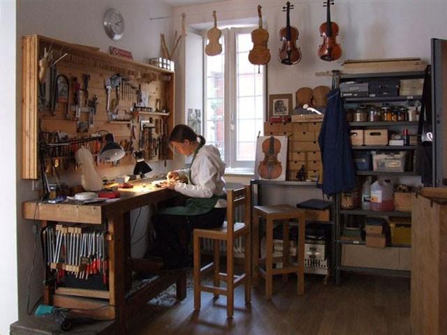 a Luthier's Shop