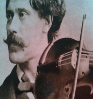 Chinrest of Spanish Virtuoso Pablo de Sarasate