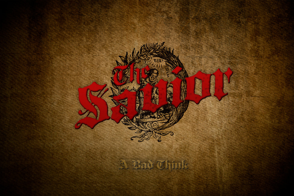 "Coming soon….""The Savior"" a new double LP from A Bad Think"