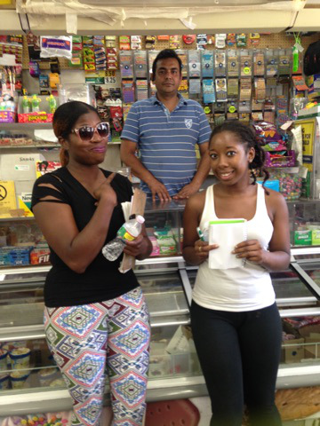 Cadieja and Mechelle interview the historic food store S.K.B's.
