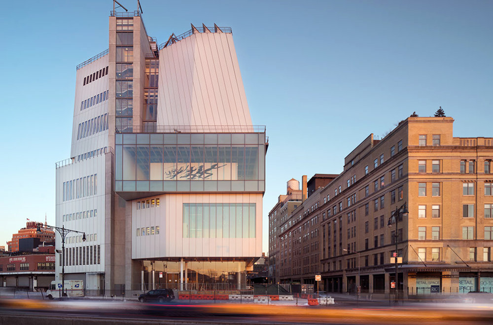 "<div align=""left""> Whitney Museum of American Art</div>"