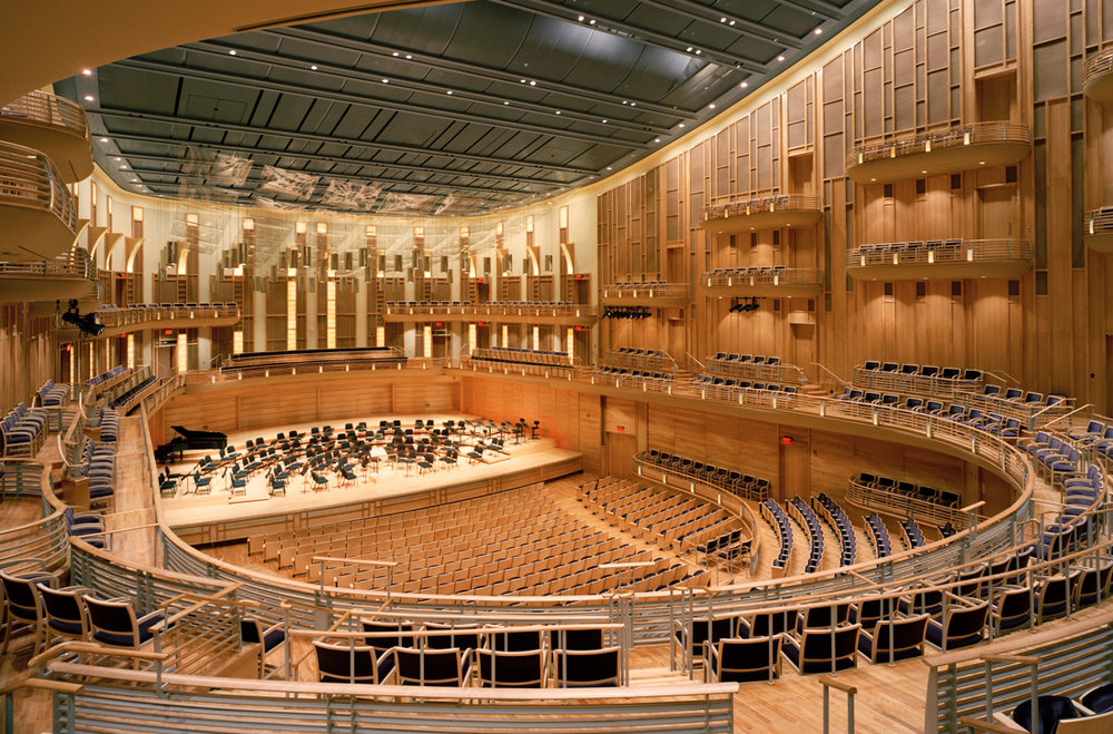 "<div align=""left"">The Music Center at Strathmore</div>"