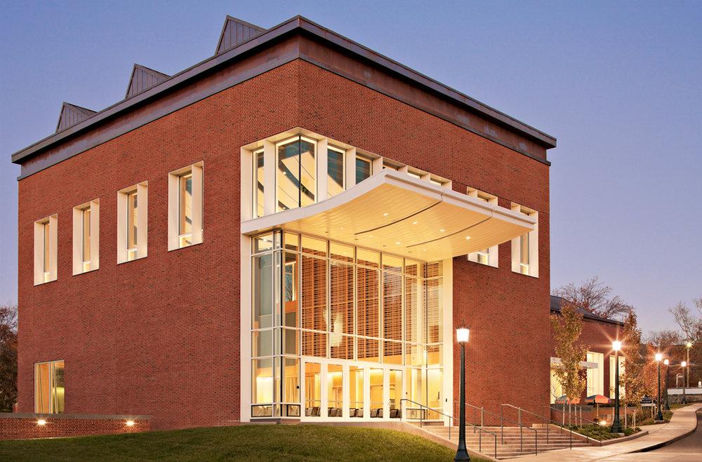 Hunter Smith Band Rehearsal Building, University of Virginia