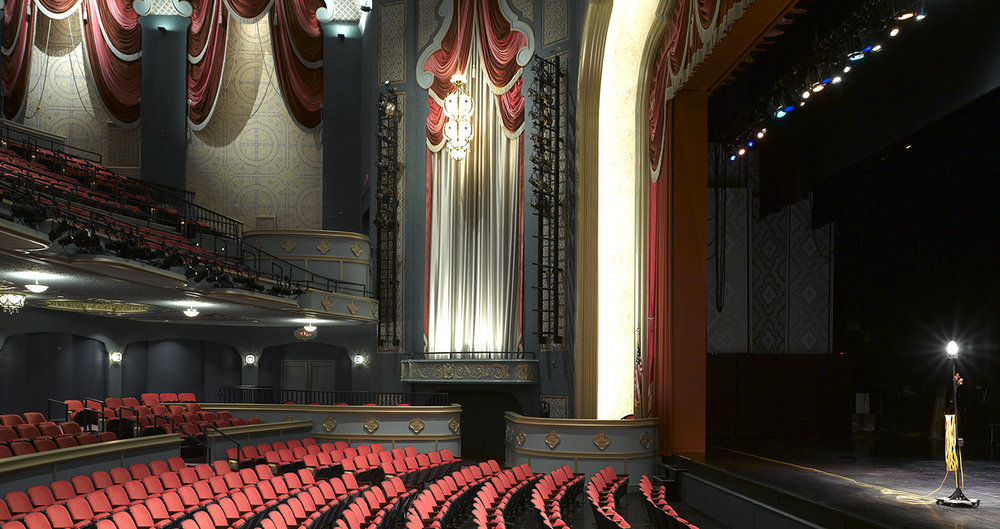"<div align=""left"">Capitol Theater, Overture Center for the Arts</div>"