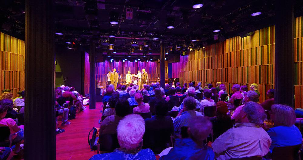 "<div align=""left"">New Orleans Mint Performing Arts Center</div>"