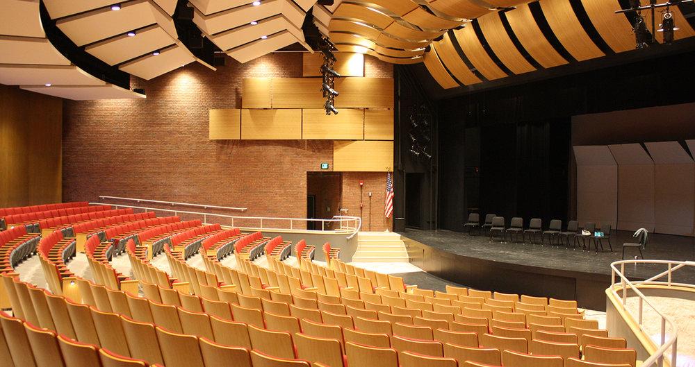 """<div align=""""left"""">Millard Auditorium</div>"""