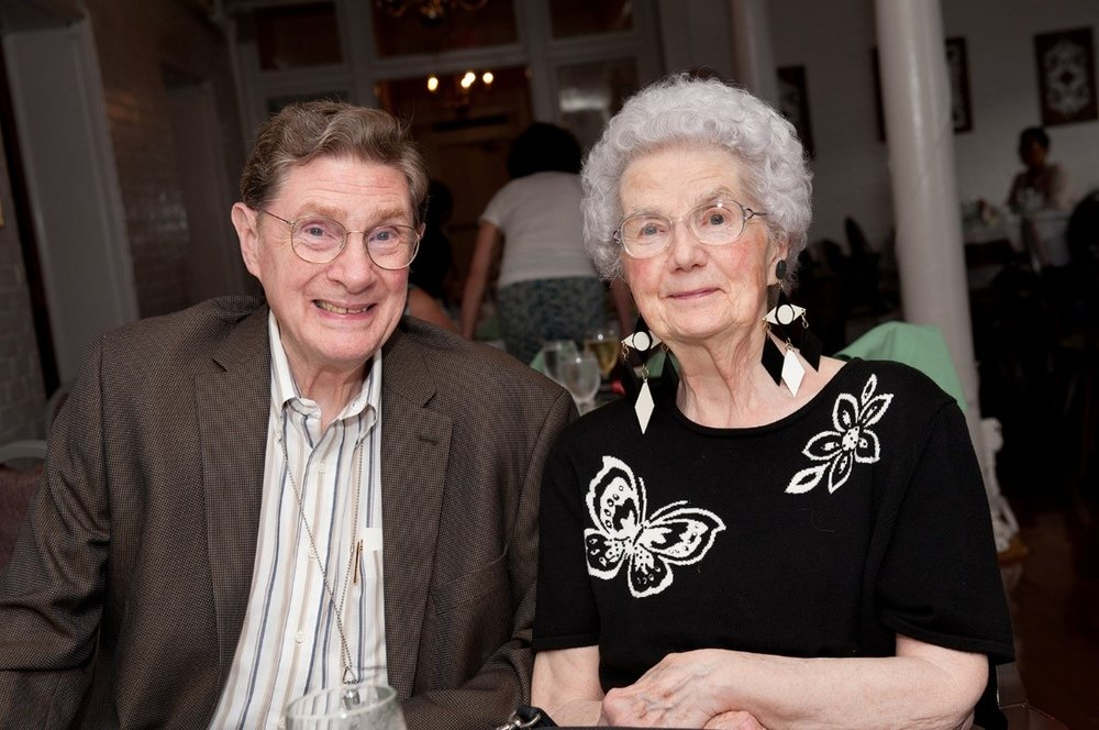 Bill and Phyllis Warfel at the International Festival of Arts and Ideas in 2012. Photo courtesy of The Defining Image LLC.