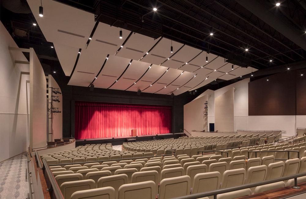 Newtown High School Auditorium