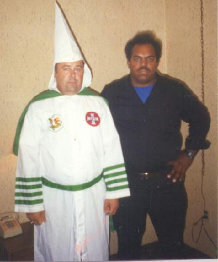 Daryl Davis with Roger Kelly in 1990