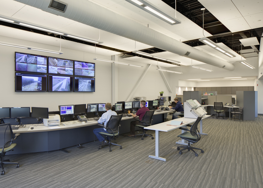 Columbus TMC Traffic Control Room