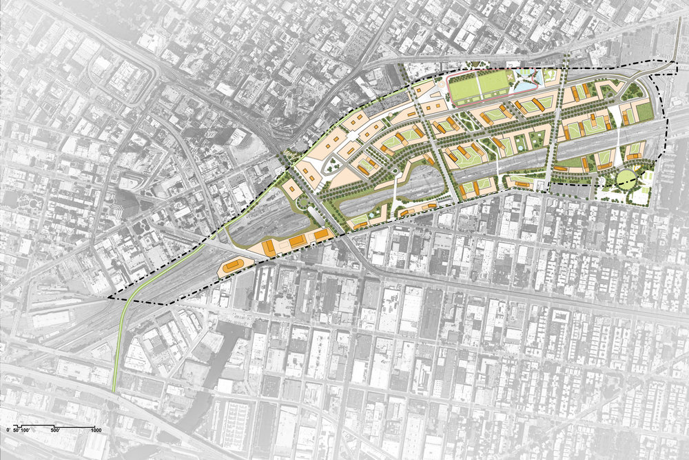 Overall Masterplan for Sunnyside Yard