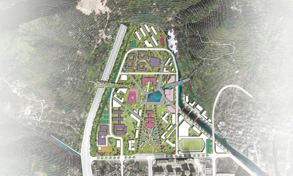 Overall campus masterplan