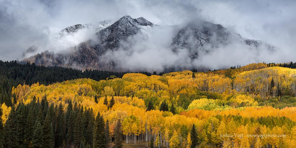 """""""Stormy East Beckwith"""" 20""""x40"""" Photograph $1495"""