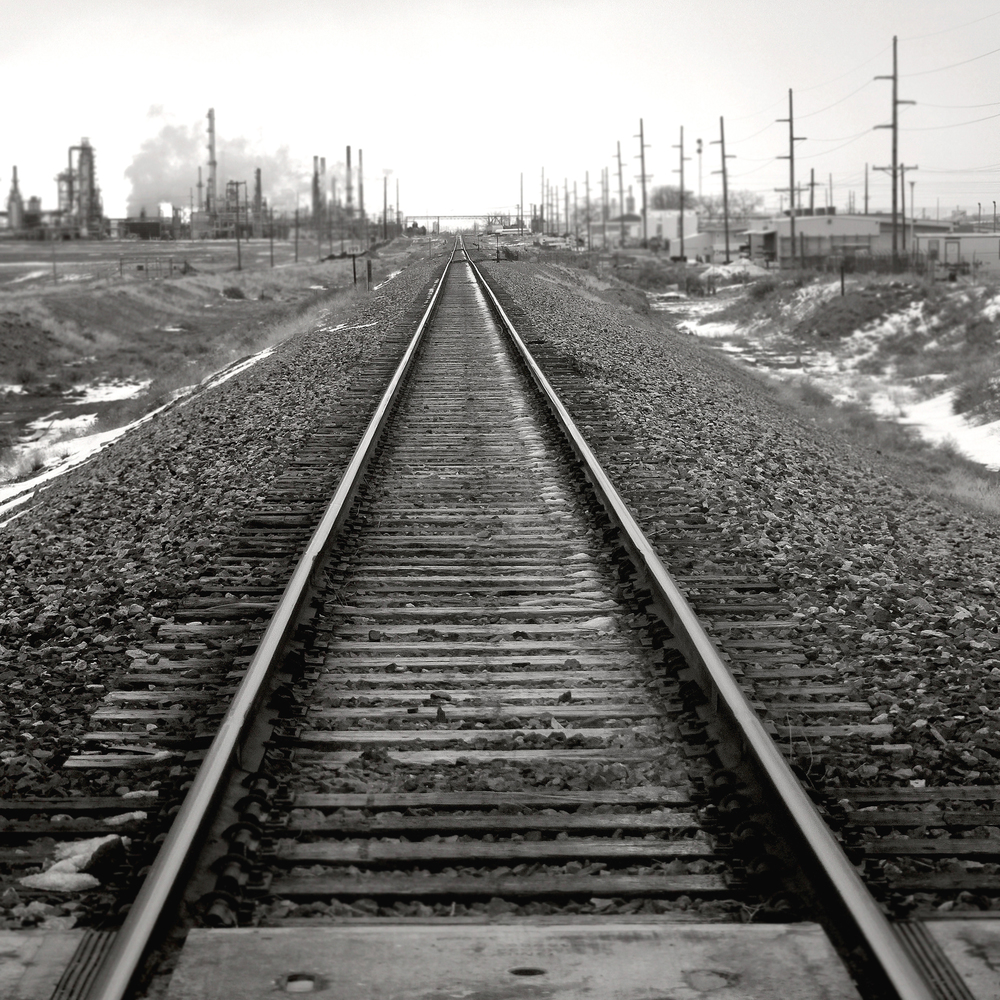 """Tracks"" 13""x13"" Photograph $250"