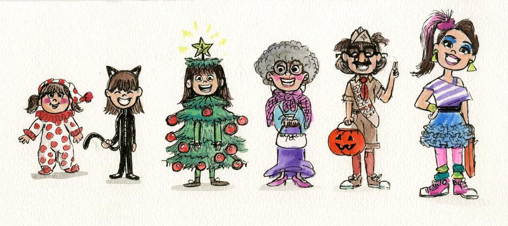 Michelle's Halloween Costumes