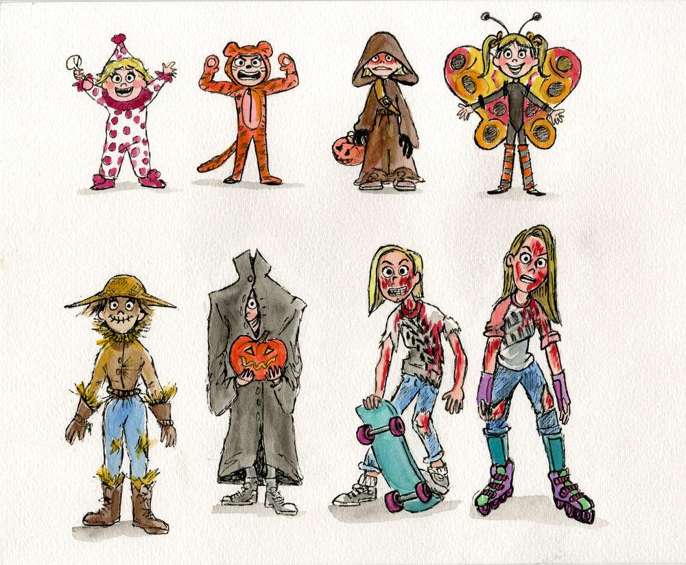Nickie's Halloween Costumes