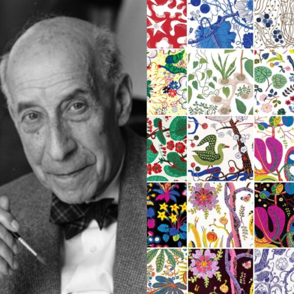 Josef Frank and his textile designs