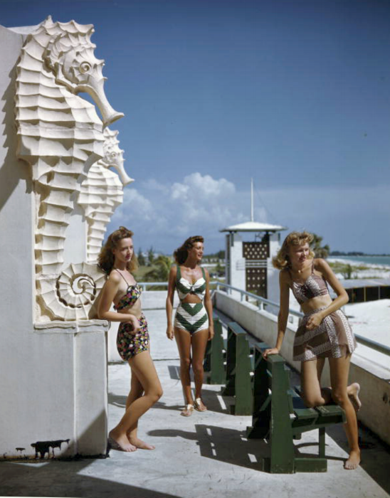 The Lido Beach Casino was designed by Ralph Twitchell and completed in 1940