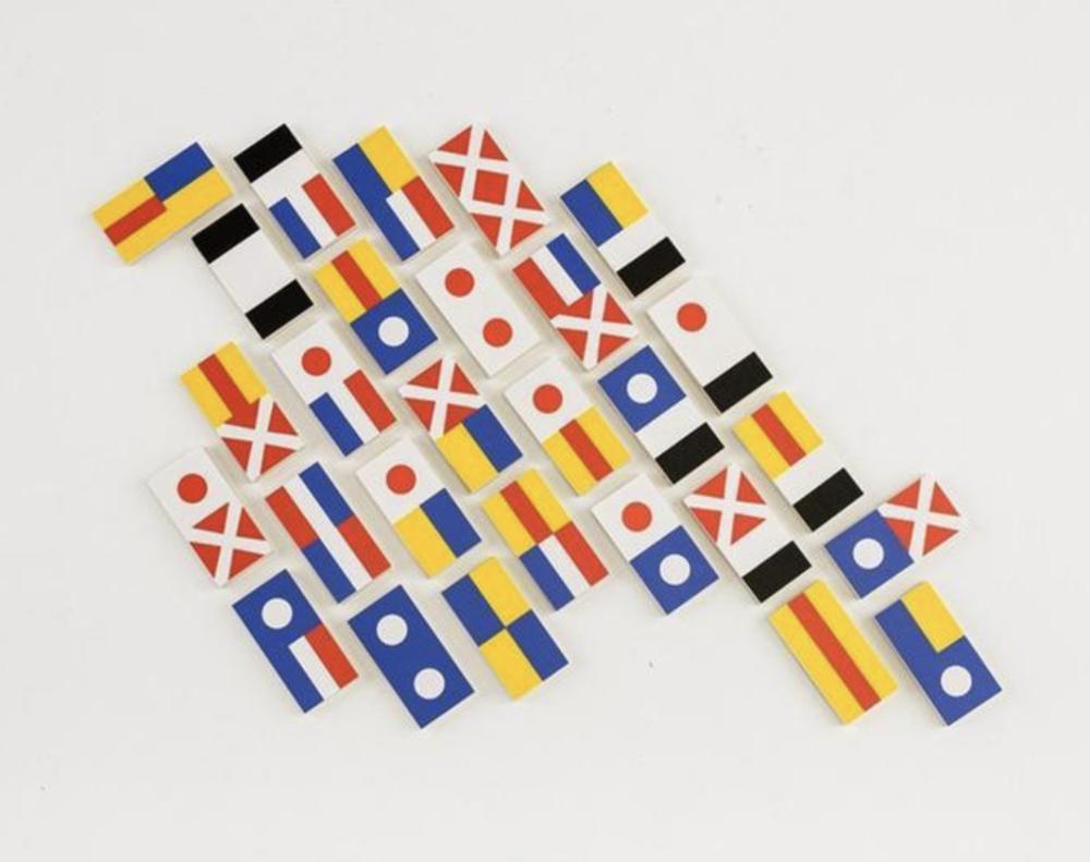 flag dominoes