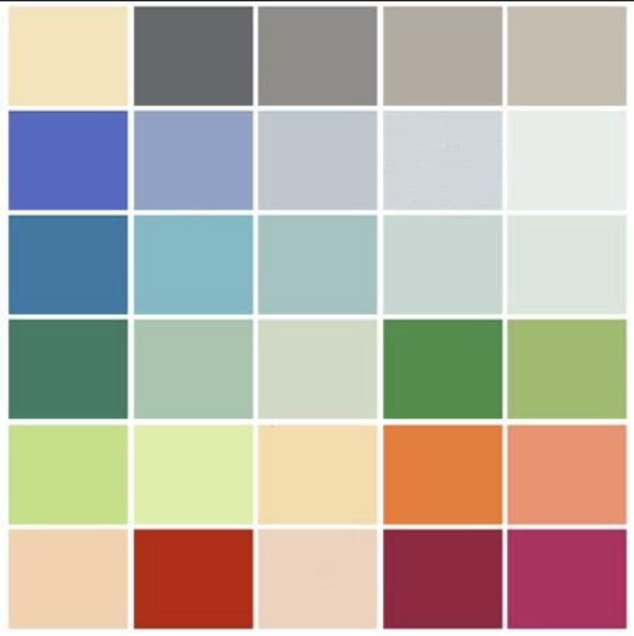 Le Corbusier color palette