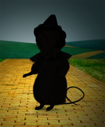 """Scarecrow"" Mouse"