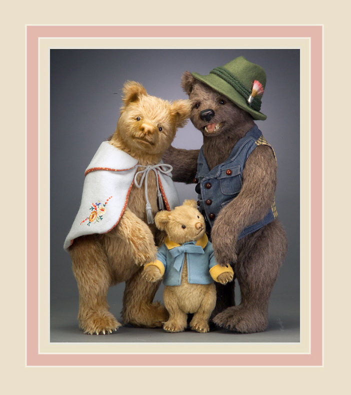 The Three Bears - part of the Goldilocks & the Three Bears collection produced in 2008.