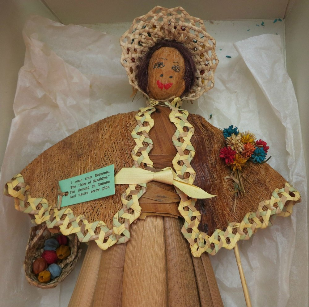 Marie Gleeson Doll. Author.
