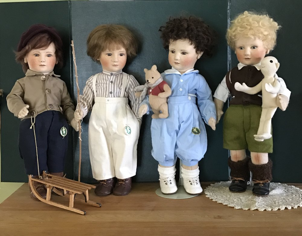 Early Little Children Dolls by R. John Wright