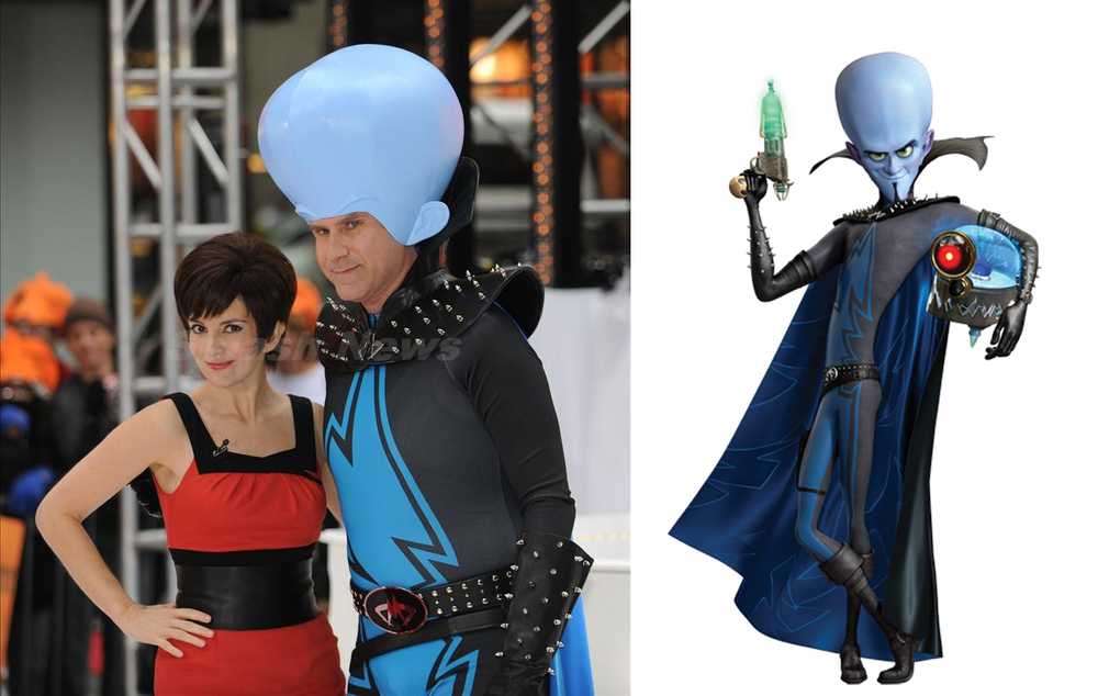 Will Ferrell:  Megamind