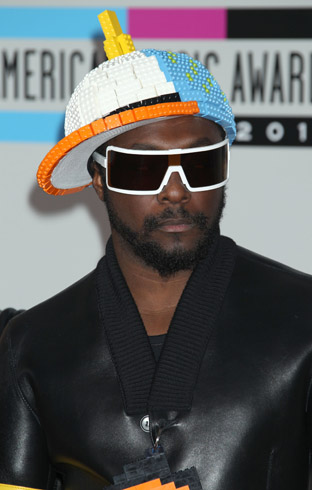 BEP: Will.i.am:  Lego Hat