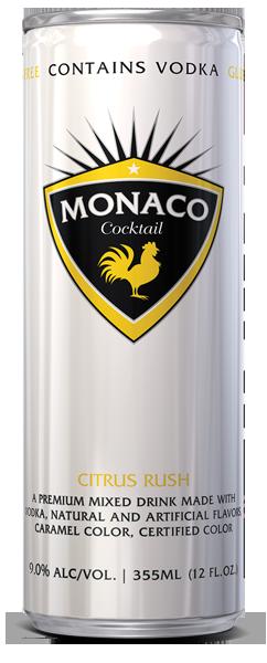 Monaco Cocktail - Citrus Rush