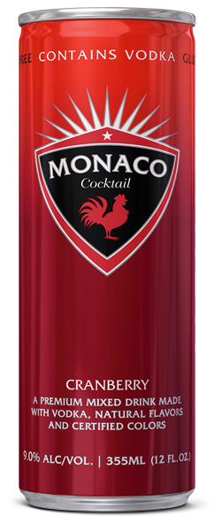 Monaco Cocktail - Cranberry