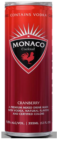 Monaco Cocktail - Cranberry