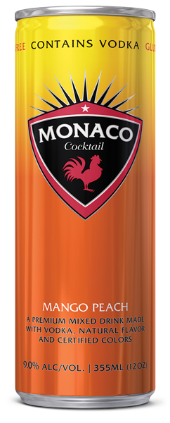 Monaco Cocktail - Mango Peach