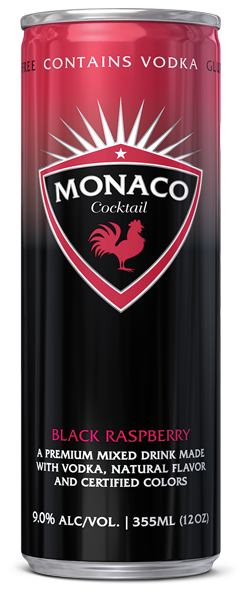 Monaco Cocktail - Black Raspberry