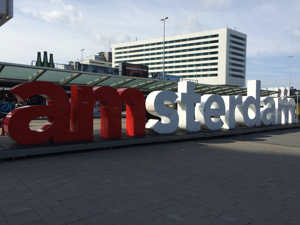 """""""I amsterdam"""" letters - Amsterdam Airport Schiphol"""