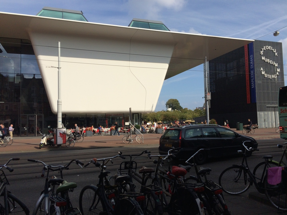 The new extension of the Stedelijk Museum Amsterdam designed by Benthem Crouwel Architects.