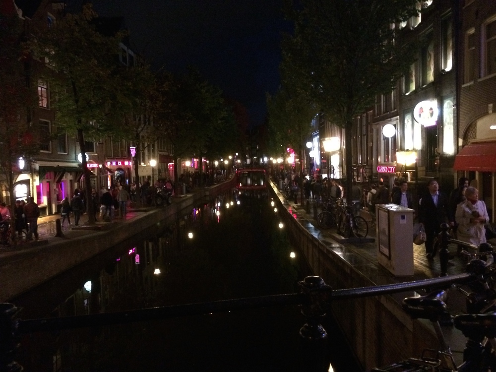 De Wallen -- Amsterdam's most famous red-light district