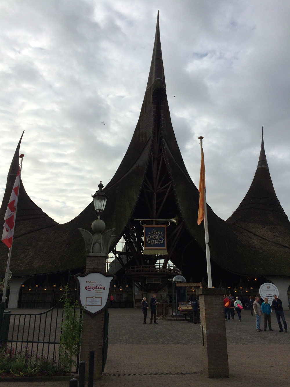 Efteling Main Entrance - The House of the Five Senses (Het Huis van de Vijf Zintuigen)