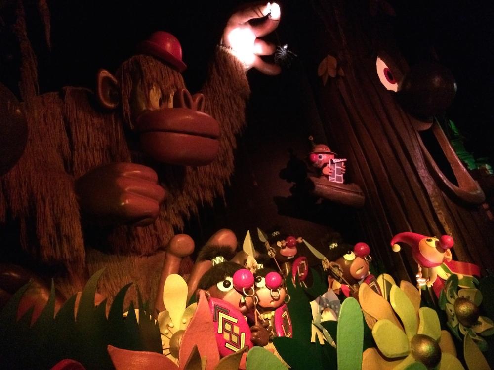 The Africa scene inCarnaval Festival.