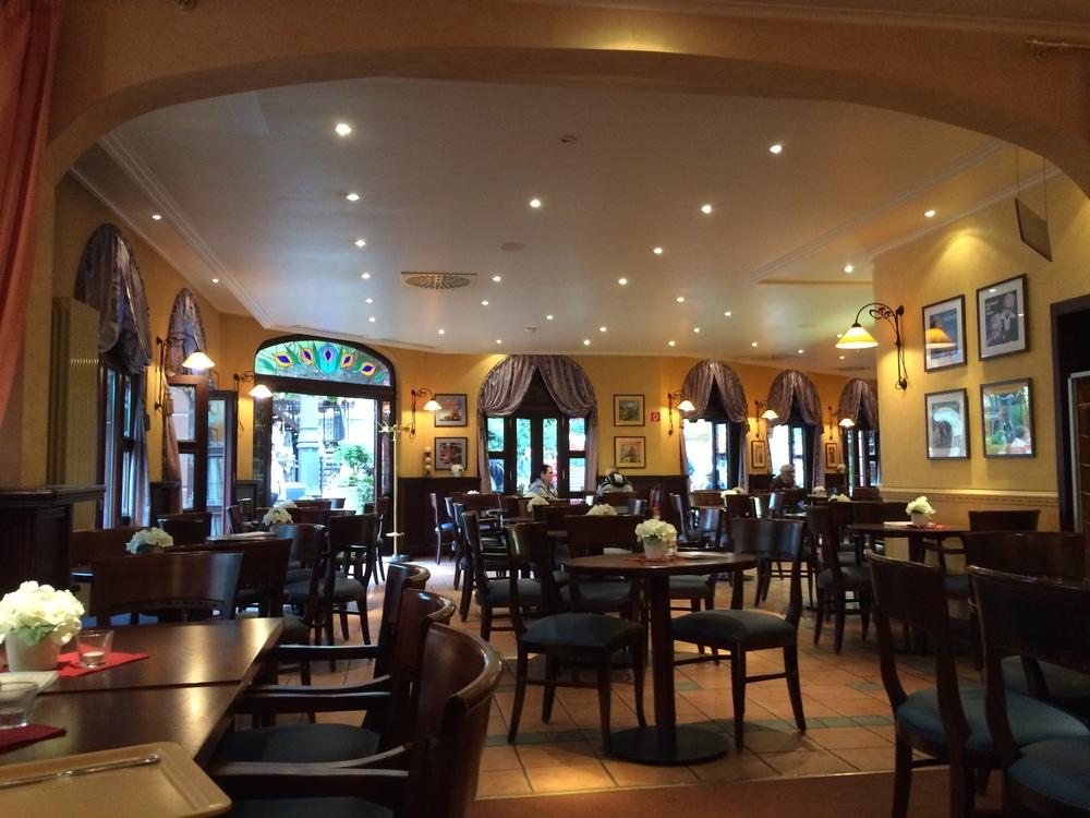 Breakfast in Heino's Kaffeehaus