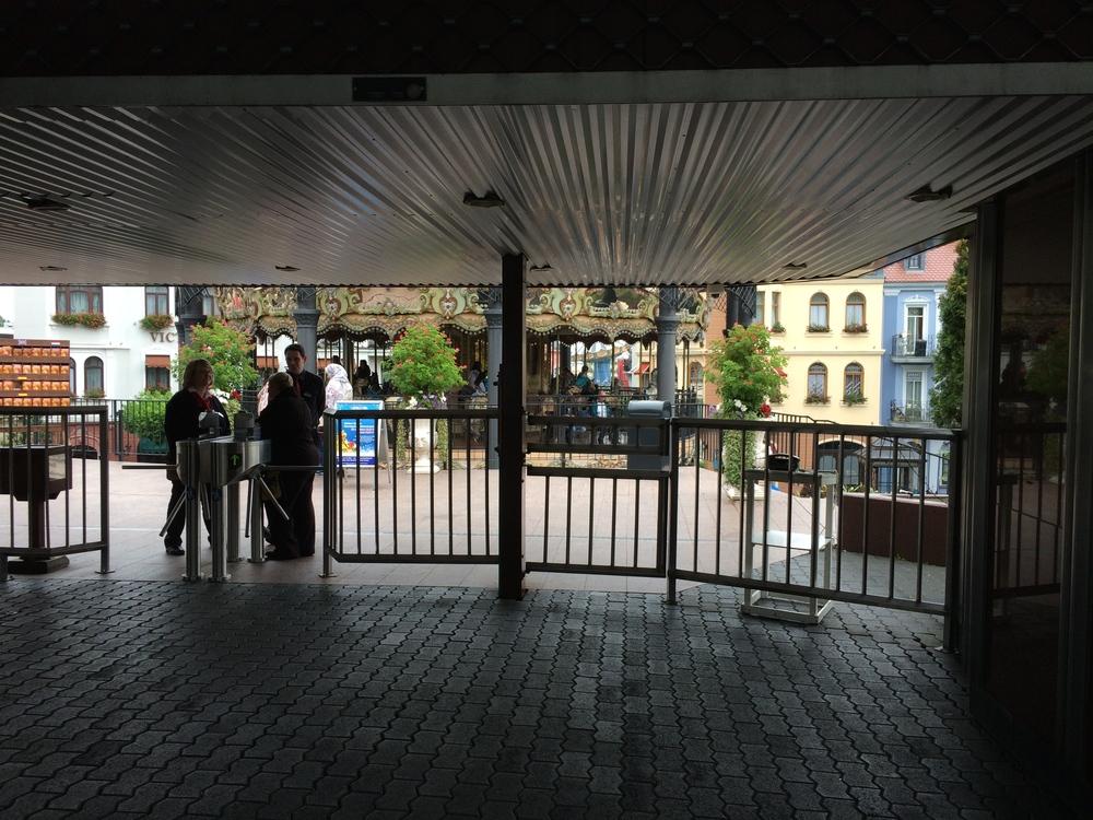 Main Entrance Turnstiles